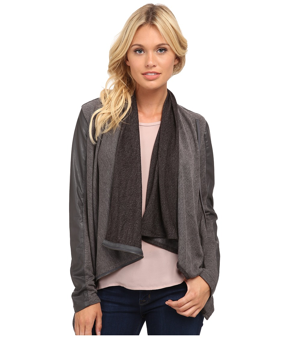 Blank NYC - Drape Jacket (French Grey) Women's Coat