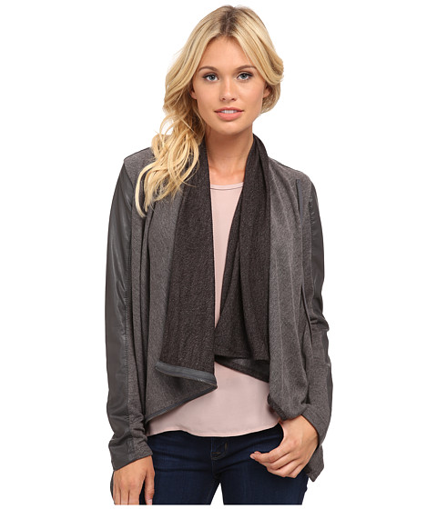 Blank NYC - Drape Jacket (French Grey) Women's Coat