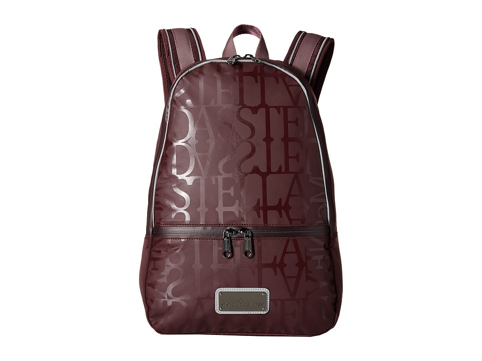 adidas by Stella McCartney - Running Backpack (Pomegranite/SMC/Grape Wine/SMC) Backpack Bags