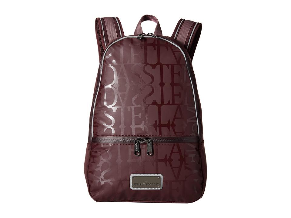 adidas by Stella McCartney - Running Backpack (Pomegranite/SMC/Grape Wine/SMC) Backpack Bags