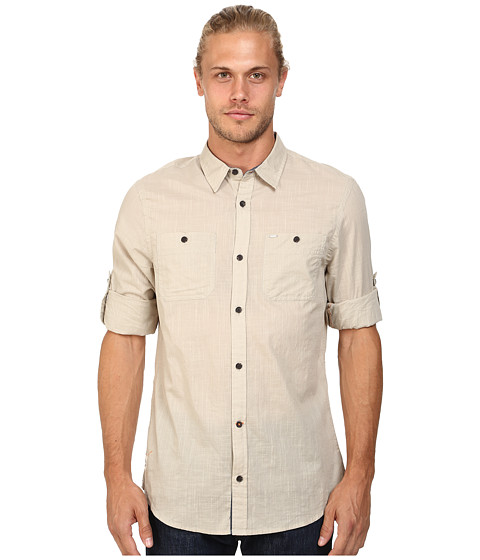 Buffalo David Bitton - Sierra Long Sleeve Shirt (Sablee) Men's Long Sleeve Button Up
