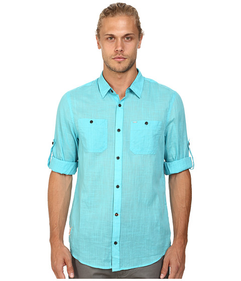 Buffalo David Bitton - Sierra Long Sleeve Shirt (Maui) Men's Long Sleeve Button Up