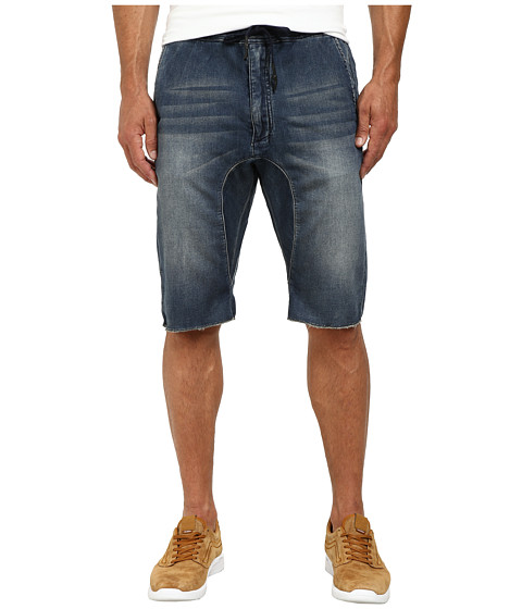 Buffalo David Bitton - Zeno-X Shorts (Indigo) Men