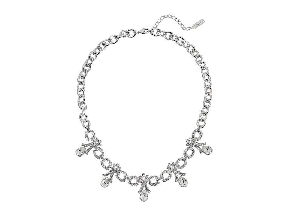 Nina - Grove Necklace (Silver/Crystal) Necklace