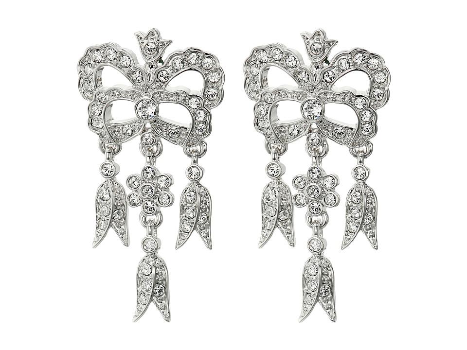 Nina - Glade Earrings (Silver/Crystal) Earring