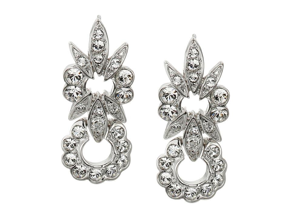 Nina - Botany Earrings (Silver/Crystal) Earring