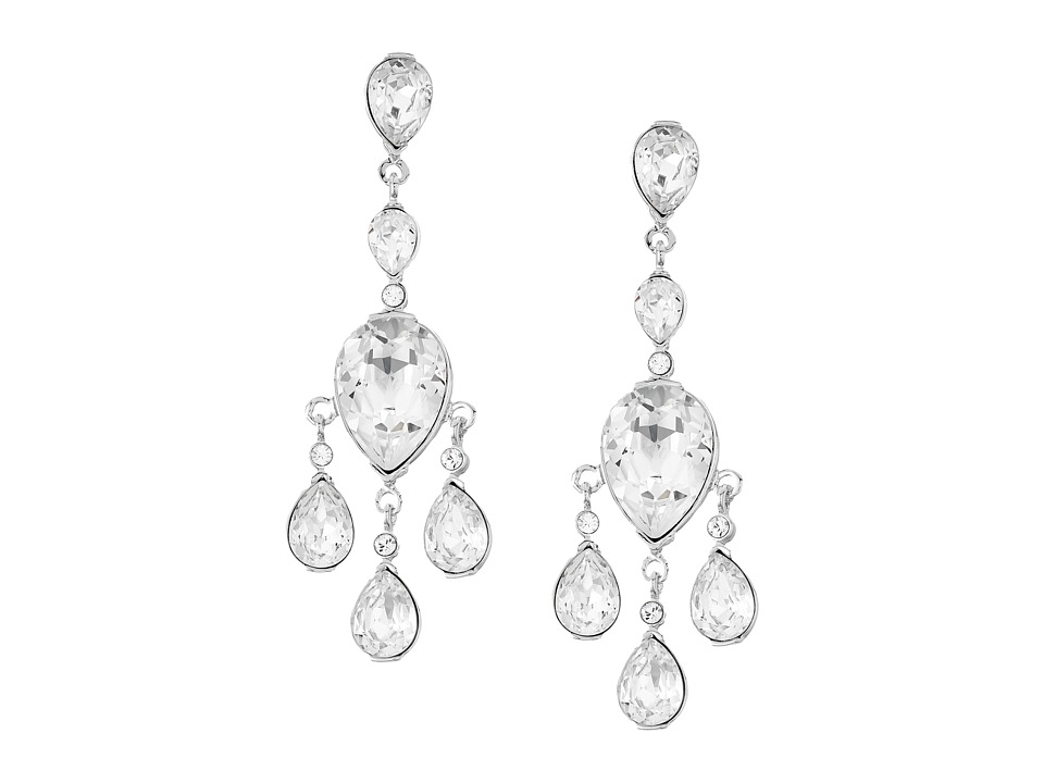 Nina - Katrita Earrings (Silver/Crystal) Earring