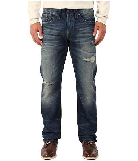 True Religion - Ricky w/ Flaps Jeans in Broken City (Broken City) Men