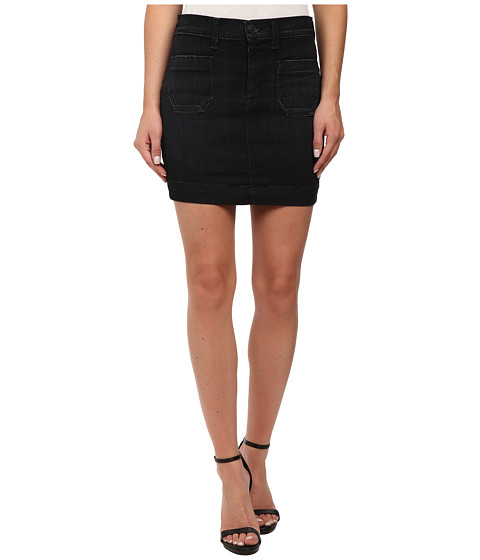 Hudson - Rose High Waist Skirt (Varnished (Black)) Women's Skirt
