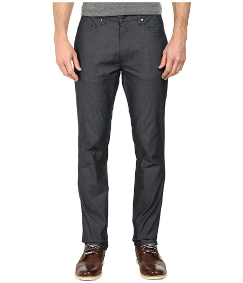 Kenneth Cole Sportswear - Fine Stripe Five-Pocket Pants (Indigo Combo) Men's Clothing