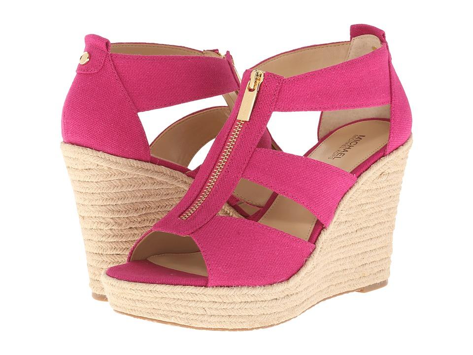 MICHAEL Michael Kors - Damita Wedge (Fuchsia) Women's Wedge Shoes