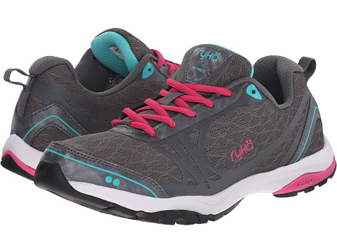 Ryka - Fit Pro 2 (Grey/Pink/Teal) Women