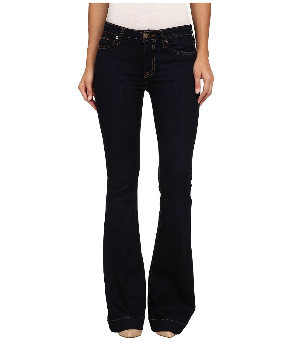Hudson - Ferris Mid Rise Flare Jeans in Delilah (Delilah) Women's Jeans