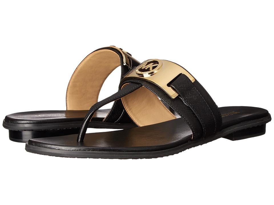 MICHAEL Michael Kors - Warren Thong (Black) Women's Sandals