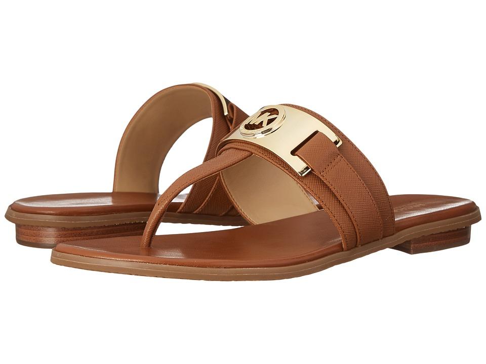 MICHAEL Michael Kors - Warren Thong (Luggage) Women's Sandals