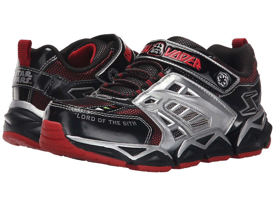 SKECHERS KIDS - Star Wars: Receptor Protocol (Little Kid) (Black/Red) Boy's Shoes