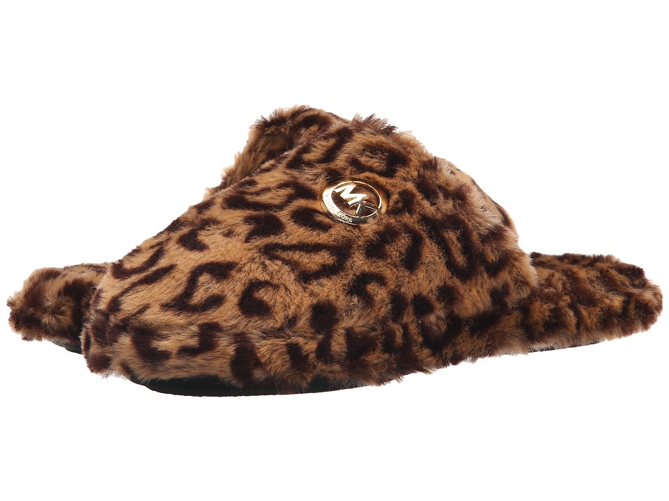 MICHAEL Michael Kors - Jet Set Mk Fur (Cheetah Natural Faux Fur) Women