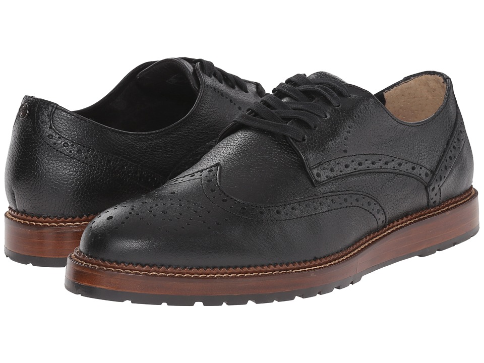 Dr. Scholl's - Braxton - Original Collection (Black) Men's Lace Up Wing Tip Shoes