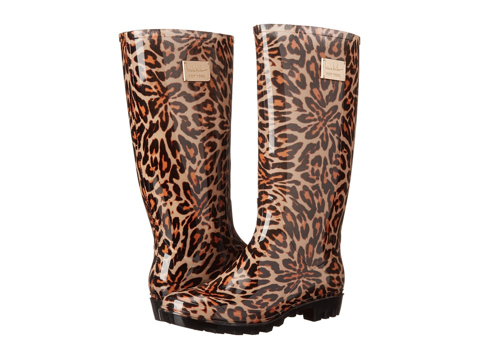 Nicole Miller New York - Rainy Day (Leopard Print) Women's Rain Boots
