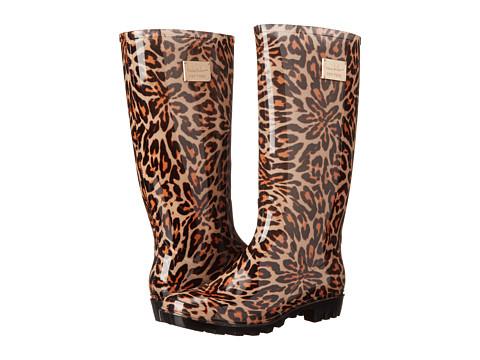 Nicole Miller New York - Rainy Day (Leopard Print) Women's Rain Boots