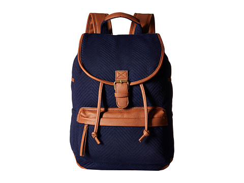Madden Girl - Bbennji (Navy Chevron Jersey) Backpack Bags
