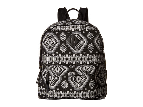 Madden Girl - Bkoachhh (Black/White Space Aztec) Backpack Bags