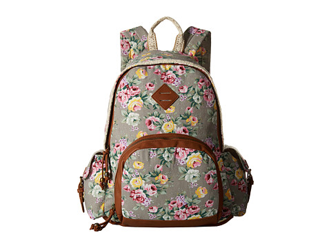 Madden Girl - Breccess (Grey Floral) Backpack Bags