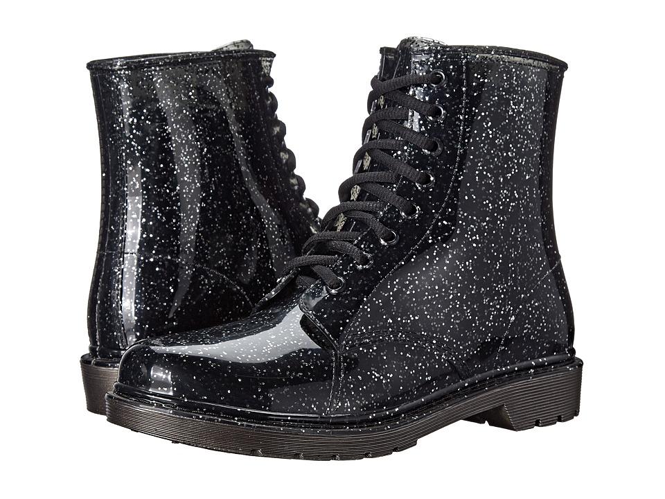 Circus by Sam Edelman - Quinn (Translucent Black/Silver Glitter) Women's Rain Boots