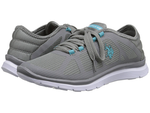 U.S. POLO ASSN. - Laurie (Grey/Turquoise) Women