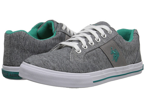 U.S. POLO ASSN. - Lexie (Grey Jersey/Teal) Women