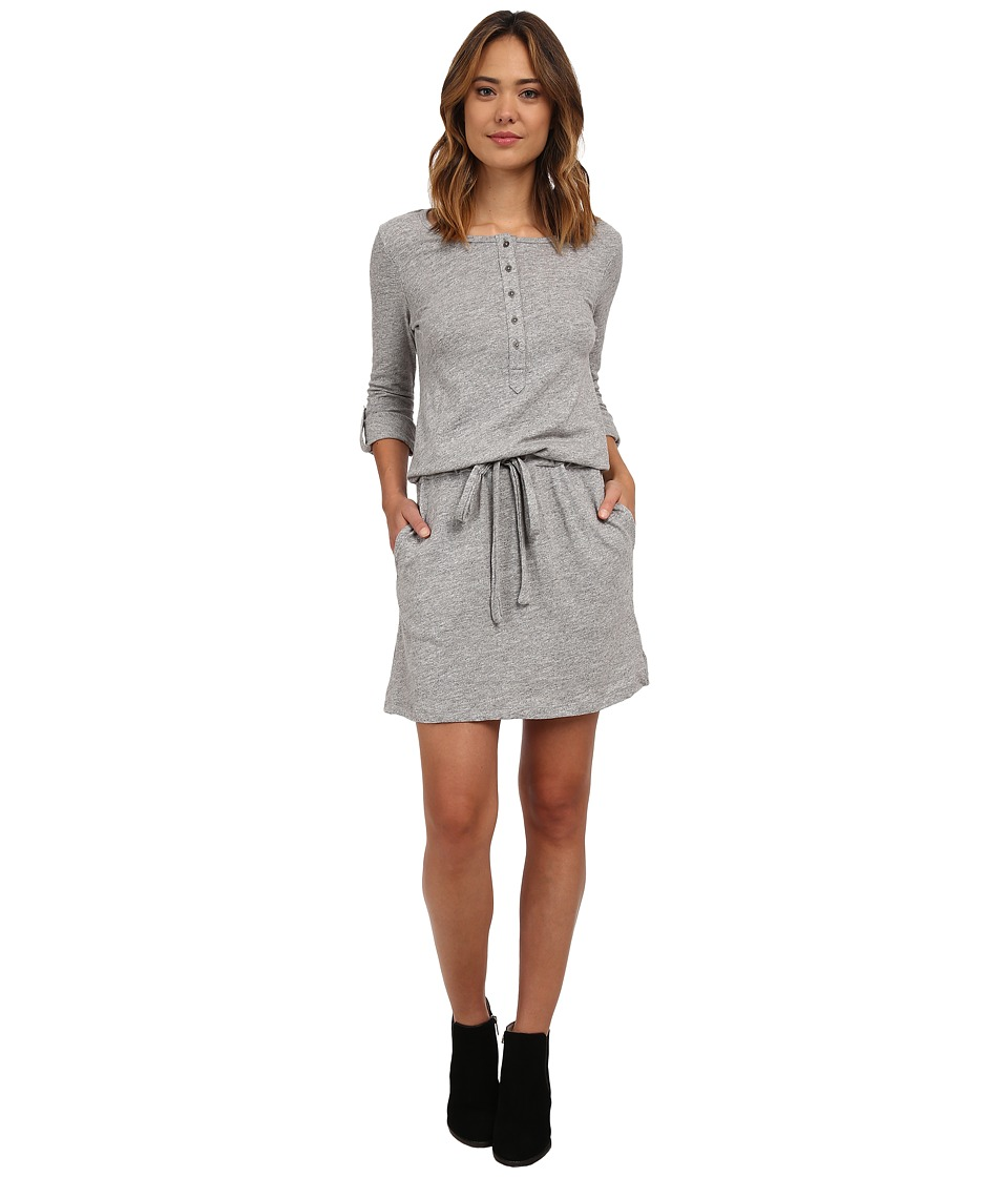 Dylan by True Grit - Jaspe Long Sleeve Dress (Heather) Women's Dress