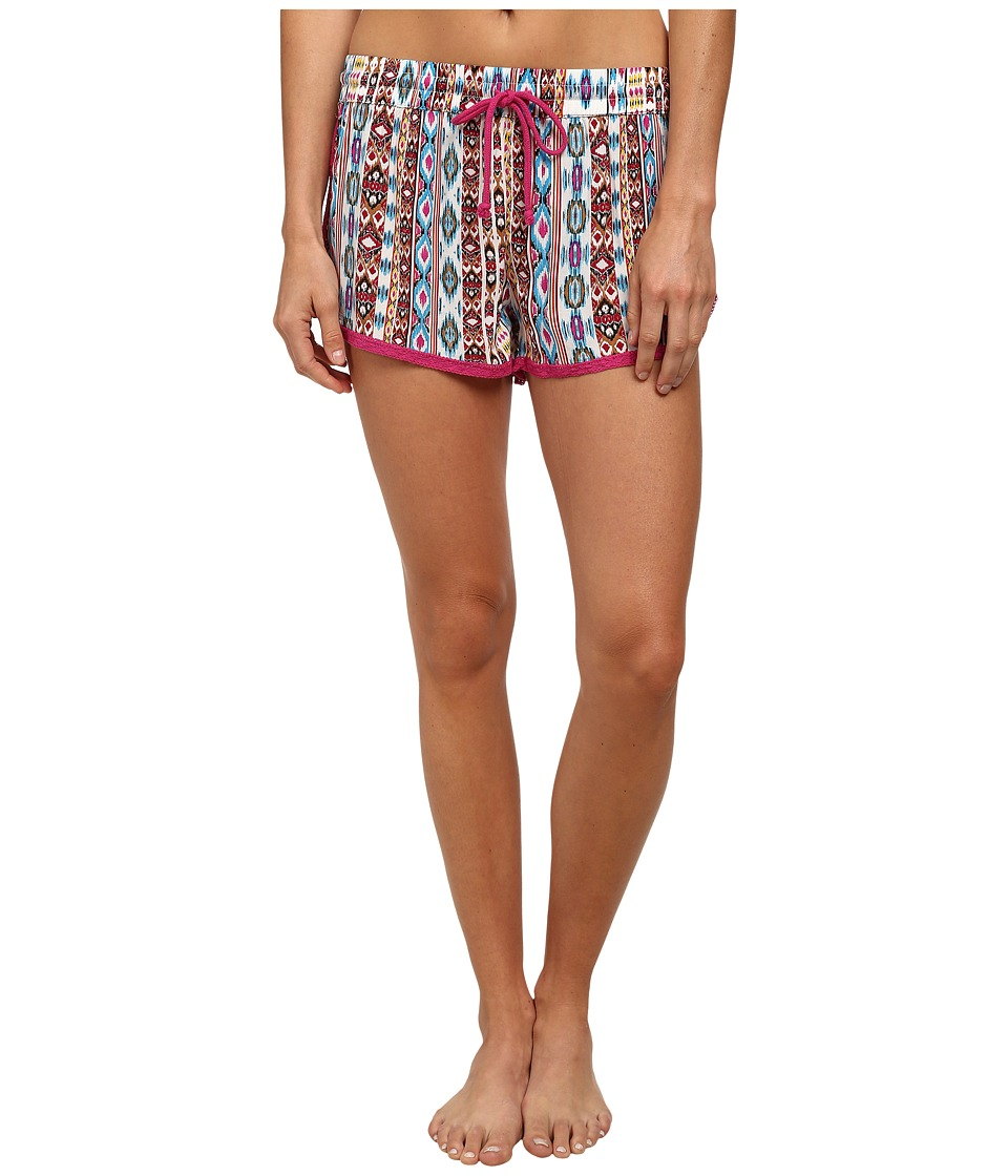 P.J. Salvage - Wanderlust Sleep Shorts (Multi Aztec) Women's Pajama