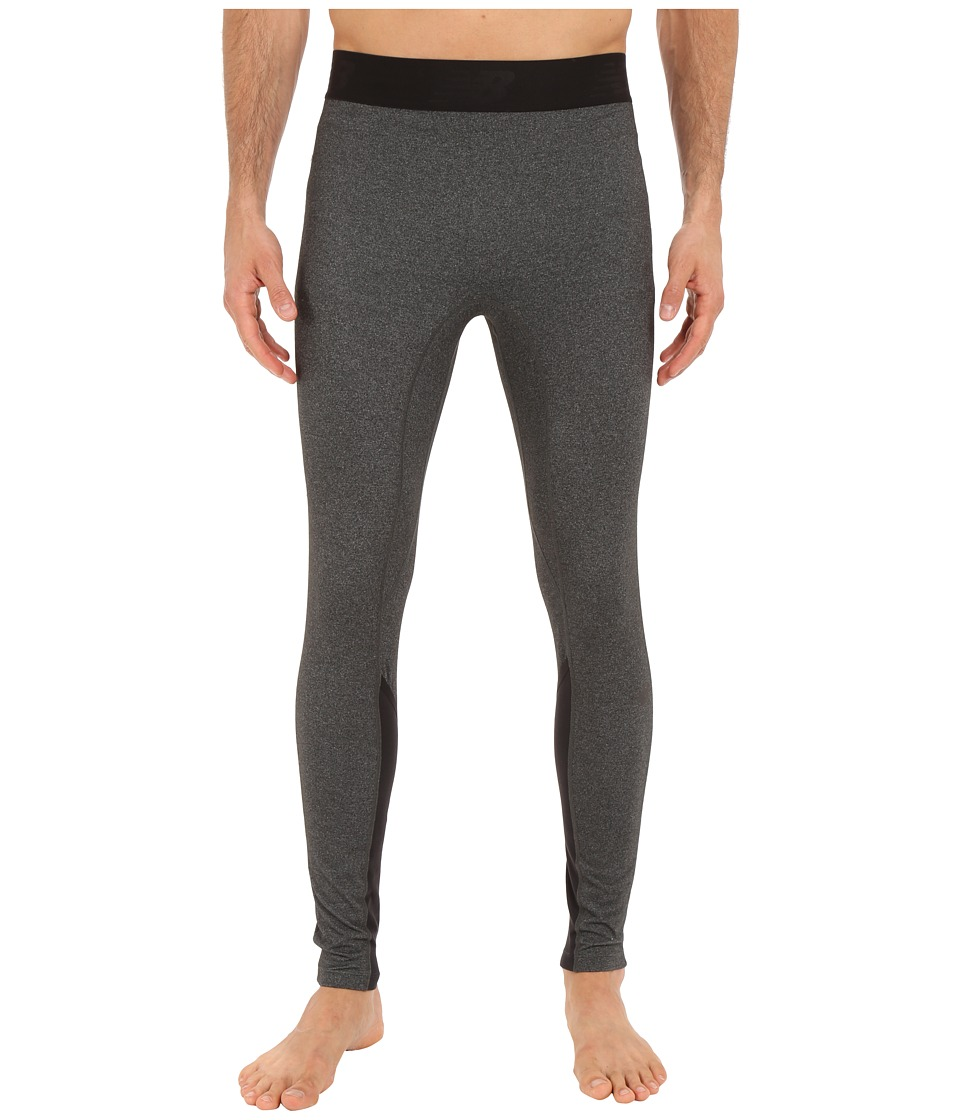New Balance Trinamic Tights (Heather Charcoal) Men