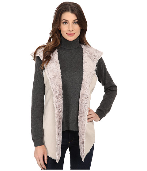 Dylan by True Grit - Reversable Vest (Oatmeal) Women
