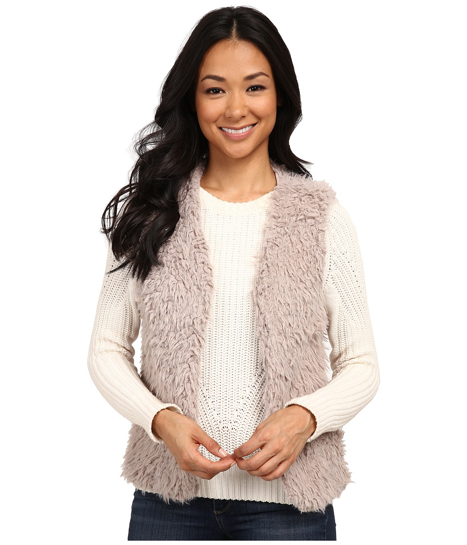 Dylan by True Grit - Fuzzy Fur Pile Vest (Blush) Women's Vest