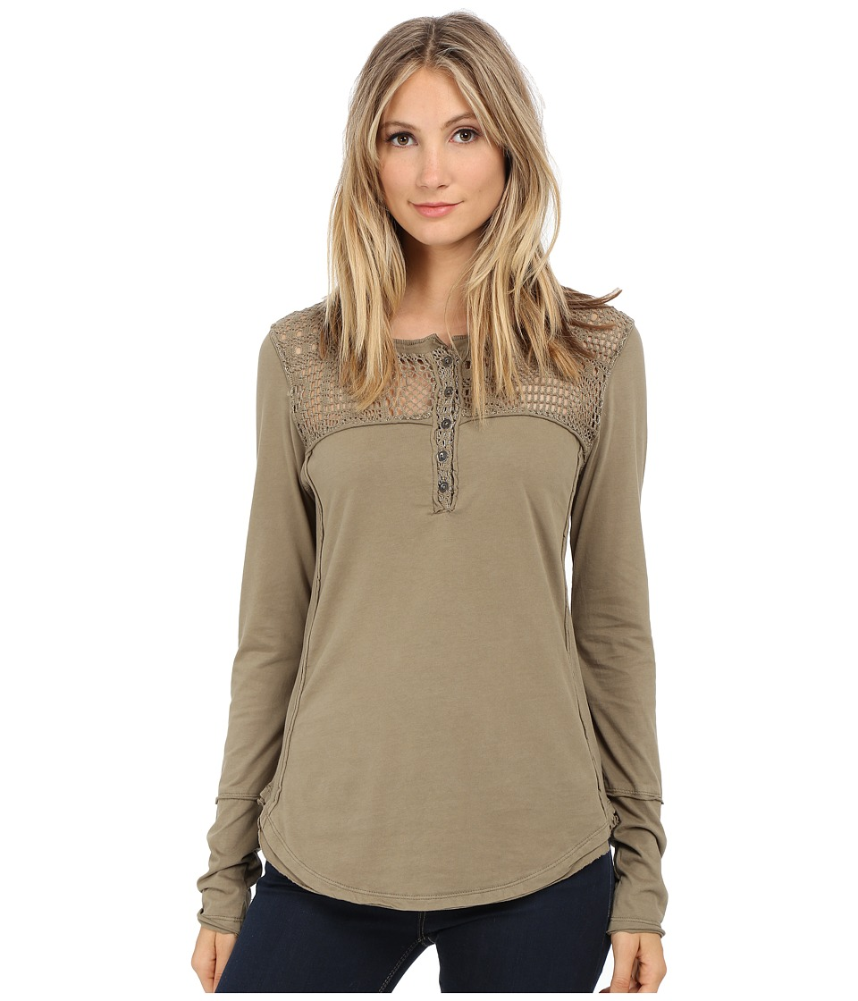 Dylan by True Grit - Homestead Henley (Cargo) Women's Clothing