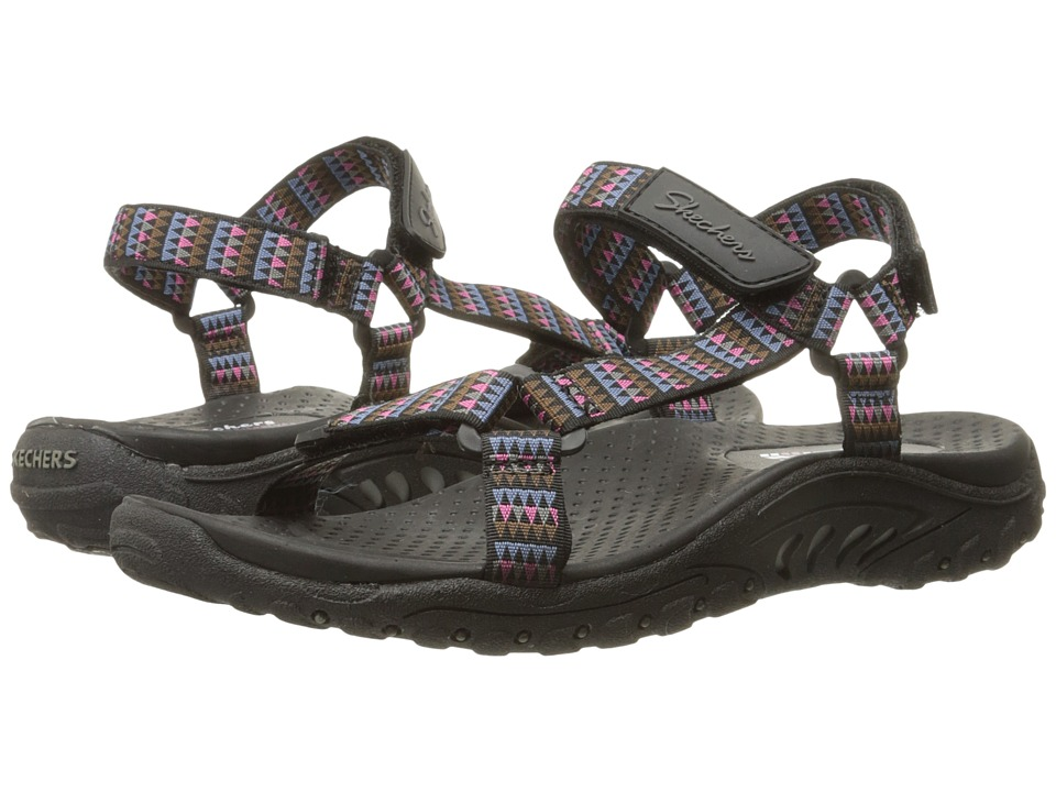 SKECHERS - Regae - Redemption (Black Multi) Women's Sandals