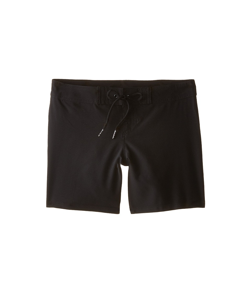 Roxy Kids - See You Soon Classic Boardshorts (Big Kids) (True Black) Girl's Swimwear
