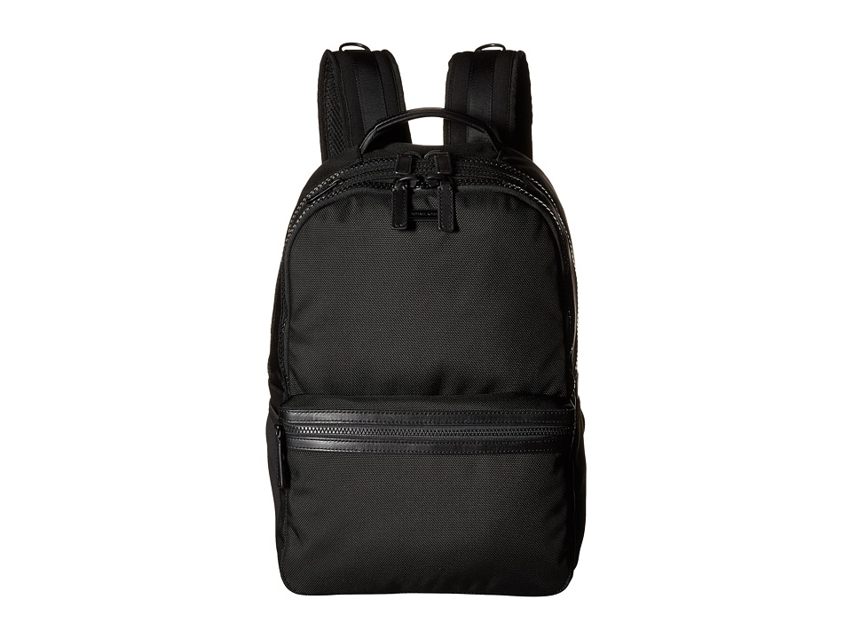 Michael Kors - Parker Ballistic Nylon Backpack (Black) Backpack Bags