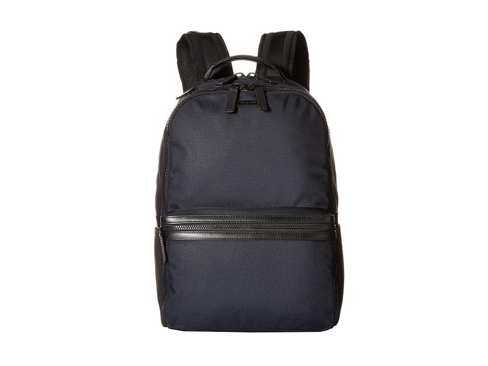 Michael Kors - Parker Ballistic Nylon Backpack (Navy) Backpack Bags