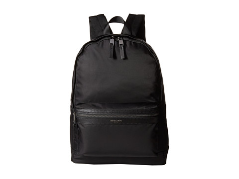 Michael Kors - Kent Lightweight Nylon Backpack (Black) Backpack Bags