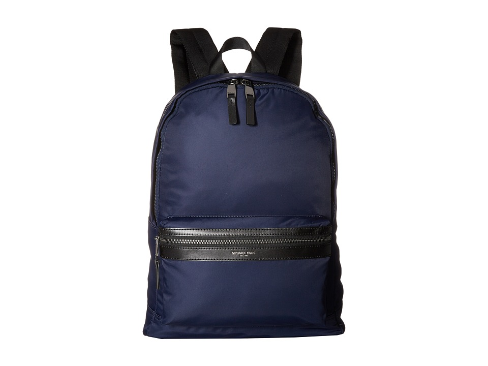 Michael Kors - Kent Lightweight Nylon Backpack (Indigo) Backpack Bags