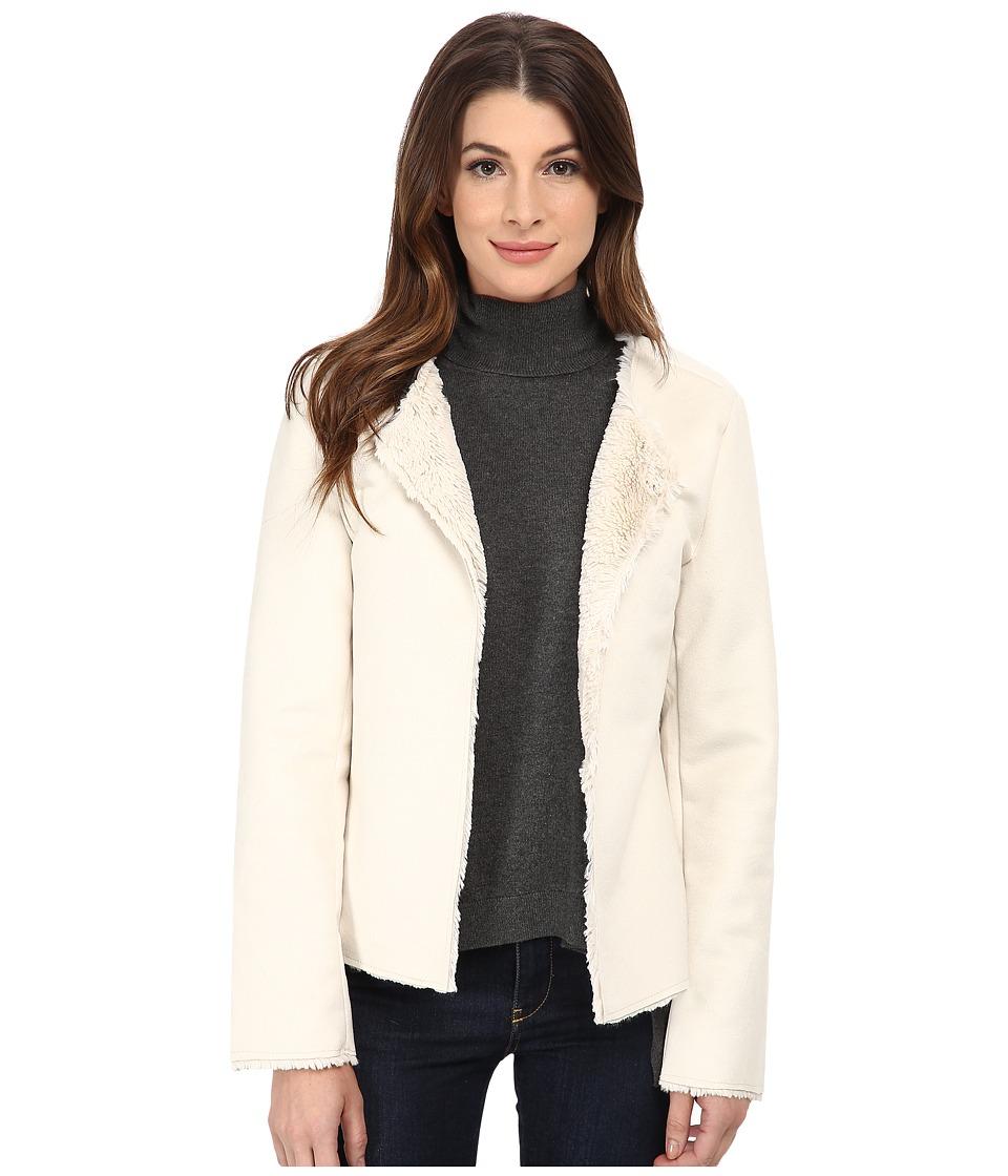 Dylan by True Grit - Reversable Jacket (Winter White) Women's Coat