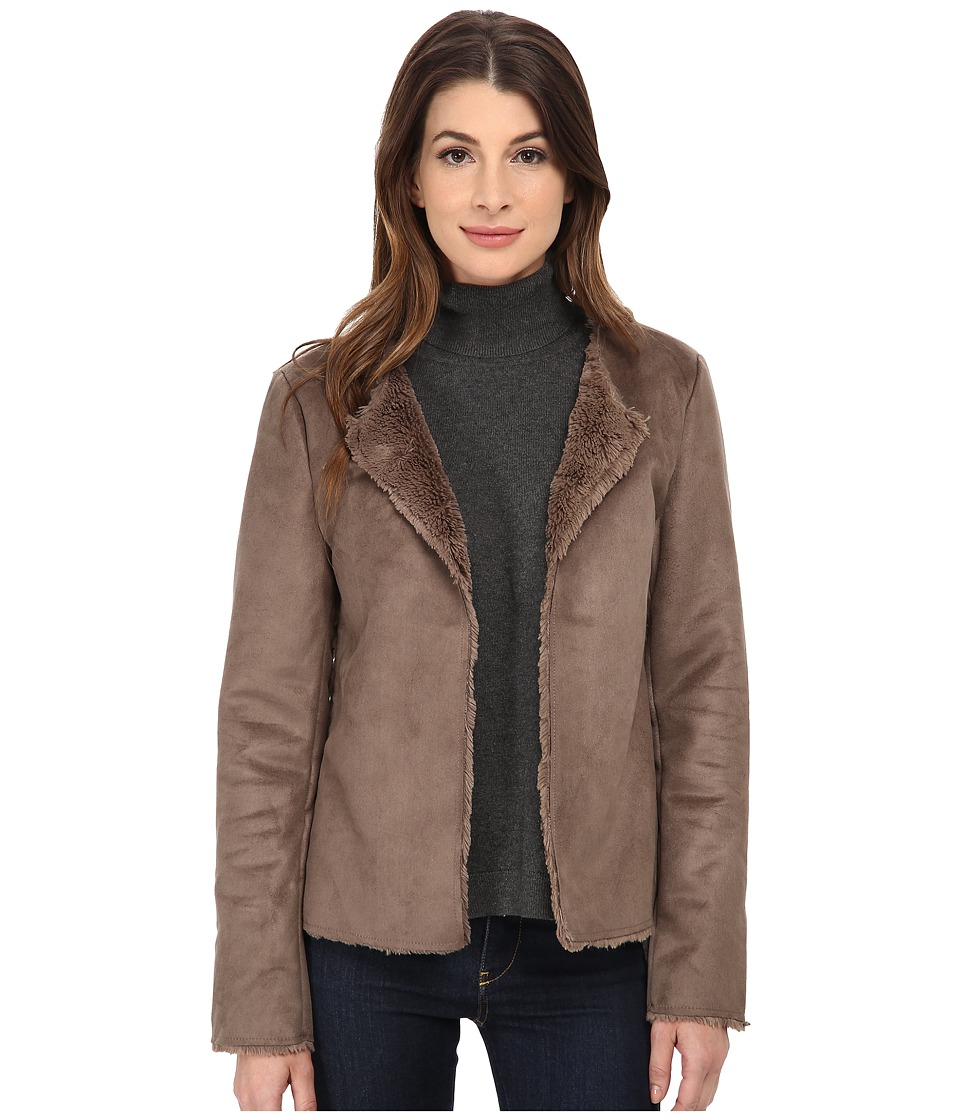 Dylan by True Grit - Reversable Jacket (Cocoa Brown) Women's Coat
