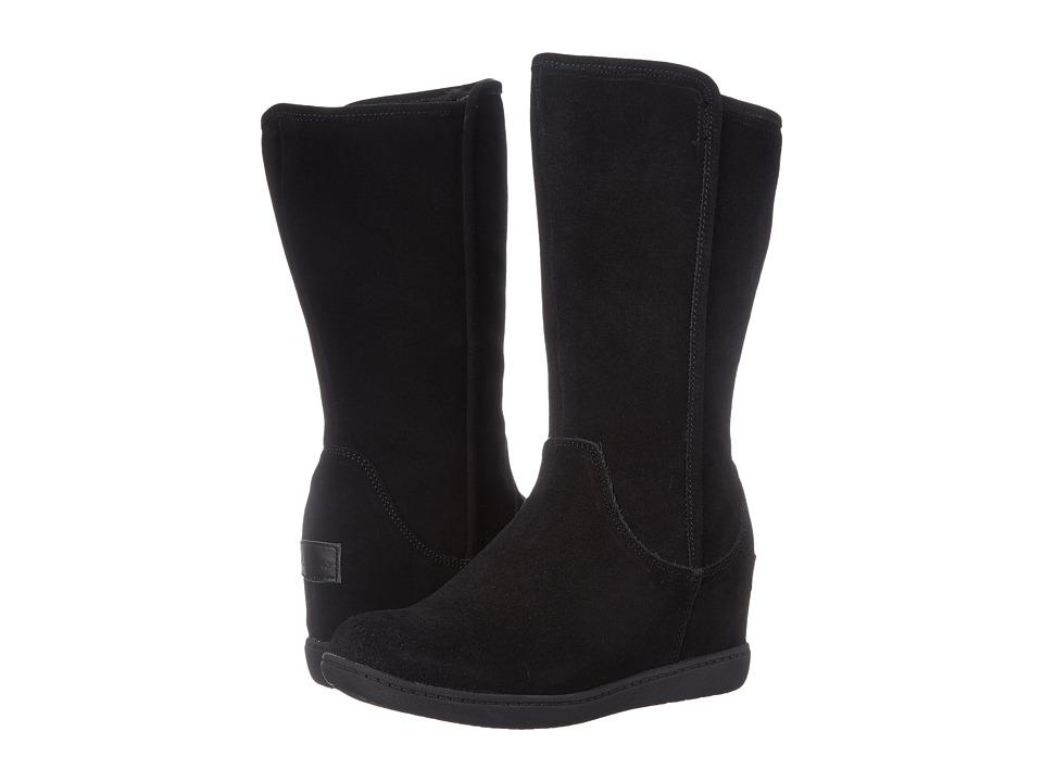 SKECHERS - Plus 3 - Pulley (Black) Women's Zip Boots