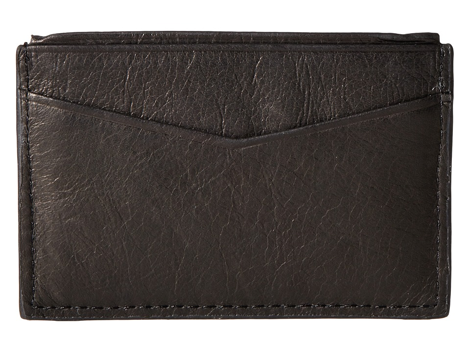 Fossil - Ingram Card Case (Black) Credit card Wallet