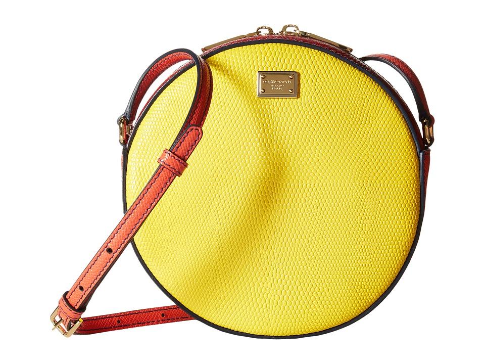 Dolce & Gabbana - Borsa A Tracolla St. (Giallo/Aragosta) Cross Body Handbags