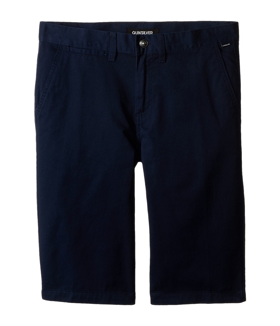 Quiksilver Kids - Union Chino Short (Big Kids) (Navy Blazer) Boy's Shorts