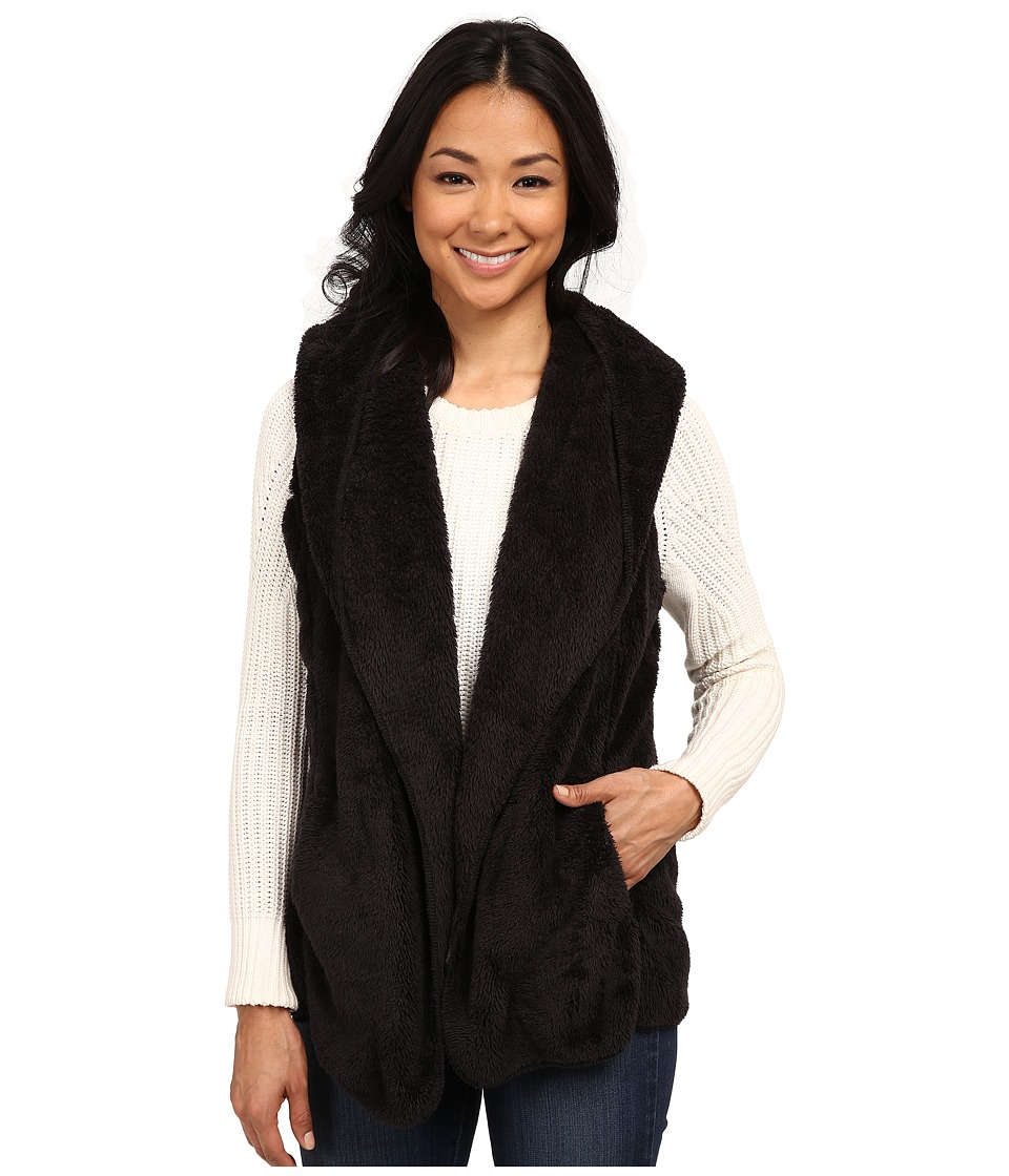 Dylan by True Grit - Double Plush Vest w/ Pockets (Black) Women's Vest