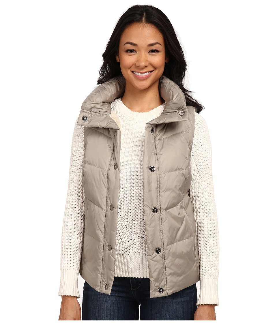 Dylan by True Grit - Seam Stitched Puffer w/ Sherpa Lining (Shimmer) Women's Vest